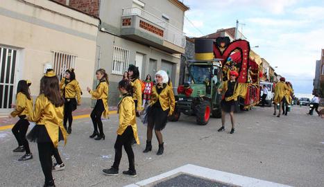 Ivars d'Urgell va celebrar ahir el Carnaval.