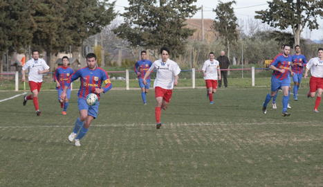 El Térmens no va poder transformar les ocasions en gol i va pagar-ho car amb un Vilanova a la contra.