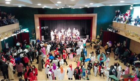 La celebració del Carnaval dissabte a Corbins.