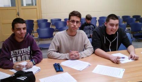 Els tres alumnes elegits van sortir de viatge el cap de setmana.