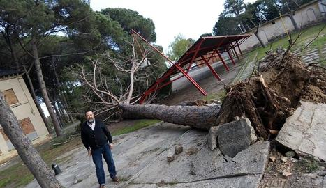 Jornada de vent amb ratxes de més de 84 km/h a Alguaire