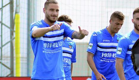 Miki Muñoz va donar de penal els tres punts al Lleida a Vila-real.