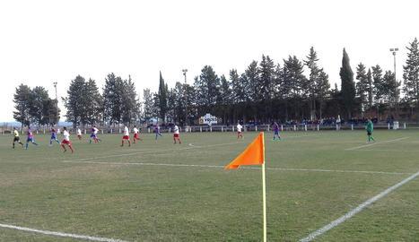 Una vista del camp de futbol del Térmens.