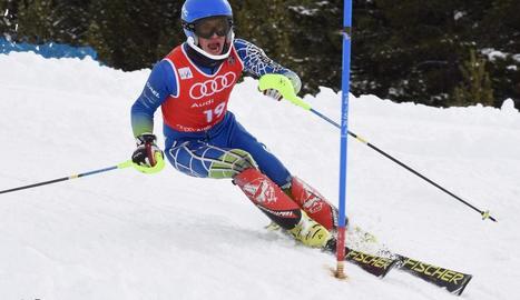 Pol Salvat, del CAEI, campió d'Espanya