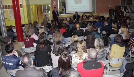 La presentació de l'equip directiu de l'IES d'Alpicat.