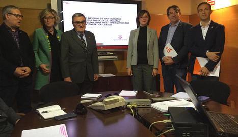 Lleida organitzarà la seua primera consulta ciutadana per triar una vintena de projectes d'inversió per a la ciutat per un milió d'euros