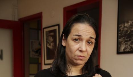 Lucía García. La seua filla va ser assassinada el 2015