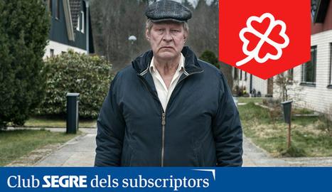 Fotograma de la pel·lícula 'Un hombre llamado Ove', amb Rolf Lassgård.