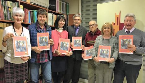 Un moment de la presentació de la revista de l'entitat.