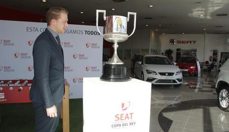 La Copa del Rei ha passat per Lleida en la seua 'gira' estatal.
