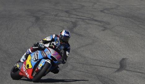Àlex Màrquez, ahir al Circuit de Jerez.