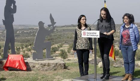 Homenaje a los agentes rurales muertos en Aspa