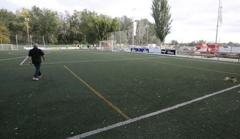 Imatge d'arxiu del camp de futbol del Pardinyes.