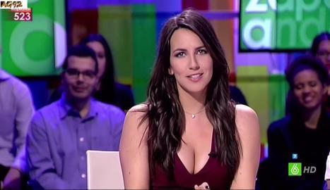 Irene Junquera, ara a 'Zapeando'.