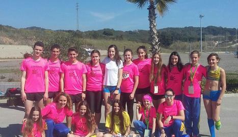 Pluja de medalles del Joventut Atlètica d'Arbeca al Català