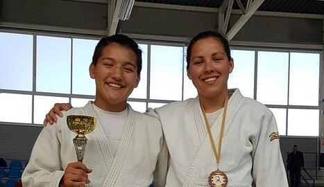 Or i plata per al Dojo en el Català de judo