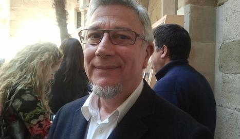 L'escriptor Josep Borrell.