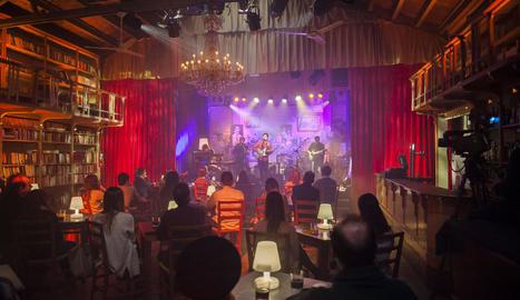 El grup Coriolà, a l'actuació a la sala El Siglo de Sant Cugat.