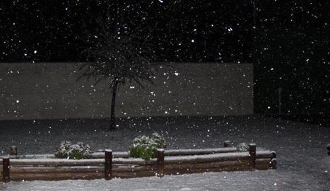 La nevada a Ivars d'Urgell.