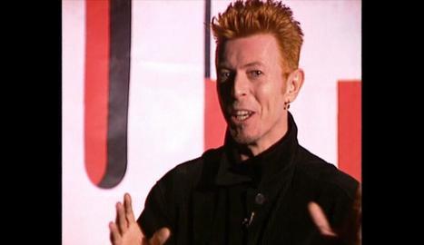 David Bowie, en un moment del programa 'Sputnik' als 90.