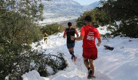Diego Cardozo i Anna Farrús, campions de la Trail Vall d'Àger