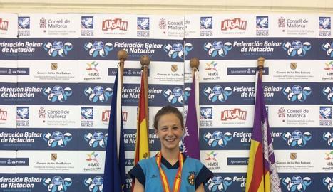 Carla Carbonell, campiona amb la Catalana