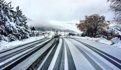 3. Boira i neu a l'entrada de la Vall de Boí.
