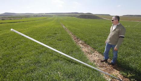 Un dels últims robatoris d'aspersors es va produir en una finca agrícola d'Alfés.
