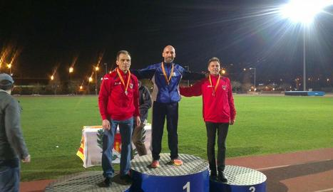 Dos medalles per al Lleida UA