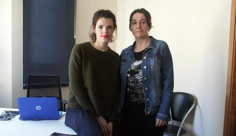 Nina Capacete i Josefina Minguell, impulsores de CAMI.