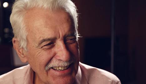 Xavier Ribalta canta a Josep Piera