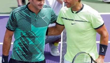 Federer derrota de nou Nadal a Miami