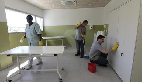 Les instal·lacions de l'Hospital Sant Joan de Déu de Lleida.