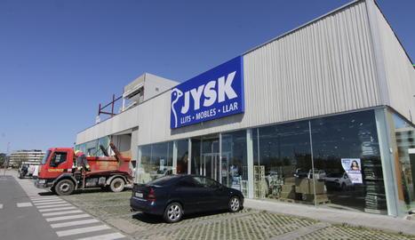 La cadena danesa JYSK estrena dissabte un local a Copa d'Or