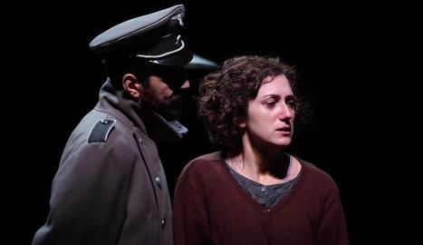 Dos dels personatges del muntatge teatral andorrà 'Fred'.