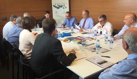 La reunió del consell d'administració del consorci del Parc Científic de Lleida