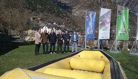 L'acte de presentació de la temporada d'esports d'aventura ha tingut lloc a Llavorsí.