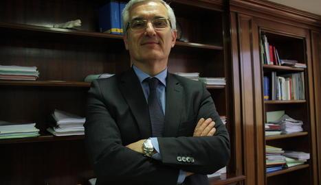 El delegat especial de l'Agència Tributària a Catalunya (AEAT), Gonzalo David García de Castro.