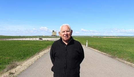 """Josep Lladonosa: """"He llaurat molts cops la pista de l'aeroport d'Alguaire. Hi plantava ordi"""""""