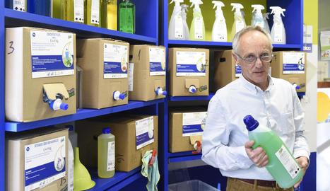 """Alfred Castro: """"Reciclar és important, però encara ho és més reutilitzar els envasos"""""""