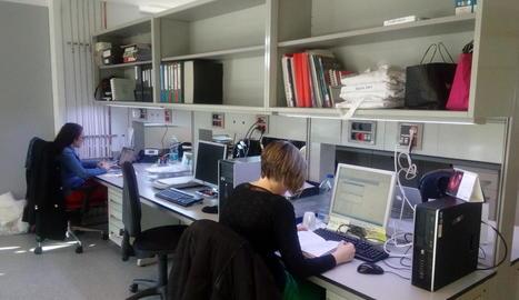 L'edifici de Biomedicina II ja està operatiu al cinquanta per cent.