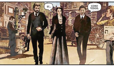 'Tiempo al tiempo' és el títol del còmic de la sèrie.