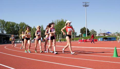 El Lleida UA acaba tercer a la renovada pista de les Basses