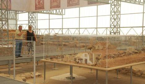 El jaciment romà de Vila Fortunatus.