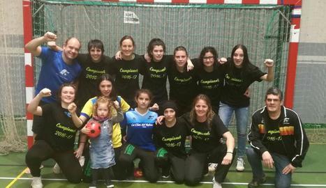 El FS Tàrrega femení, campió de Lliga