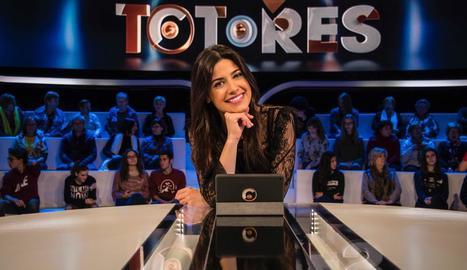 La lleidatana Ares Teixidó, presentadora del concurs.