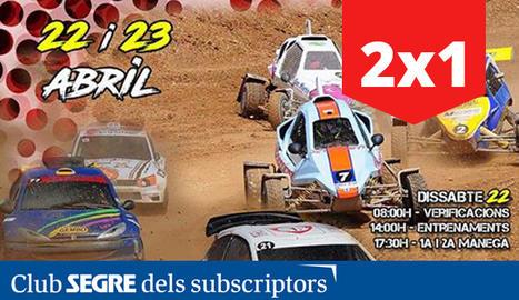 Cartell del 19è Campionat d'Espanya d'Autocross