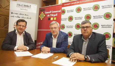 Conveni per als menjadors escolars de l'Urgell