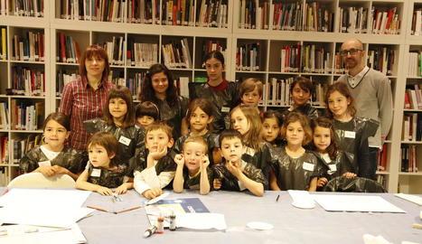 'Trucs' d'artista en un taller per als més petits a la Panera
