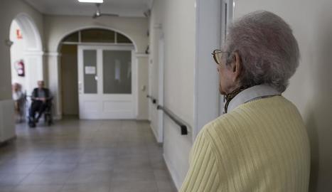 Carmen Arrondo té 81 anys i viu a la residència Hospital de Tàrrega.